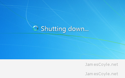 Windows 7 Shutdown