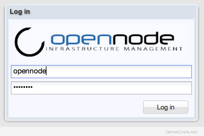 Opennode The Proxmox Alternative Jamescoyle Net